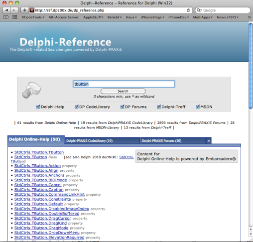 Delphi-Reference Screenshot